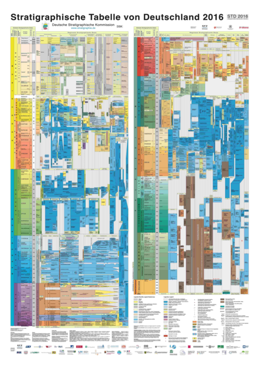 Stratigraphic Table of Germany 2016