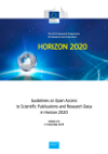 Guidelines on Open Access to Scientific Publications and Research Data in Horizon 2020