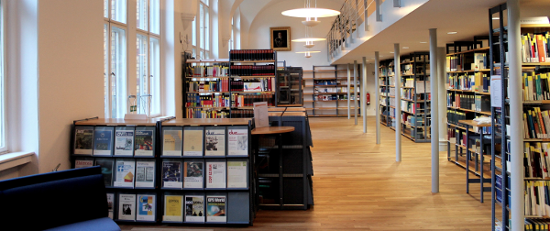 Lesesaal der Bibliothek